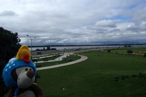 Olhá lá o rio Paraguay