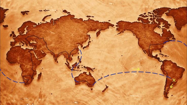 Meu roteiro de viagem de volta ao mundo